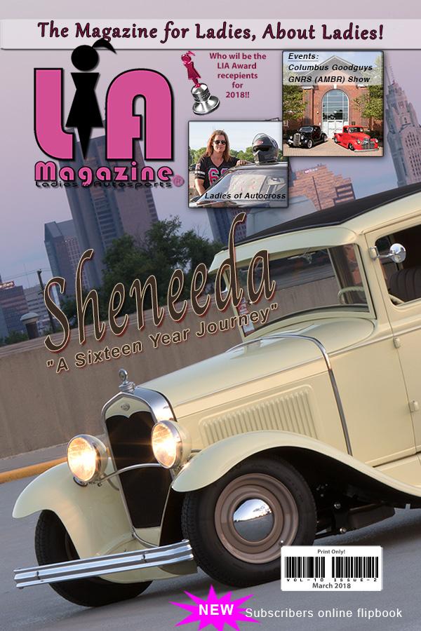 LIA Magazine - Ladies in Autosports Automotive Industry Hot Rodding ...