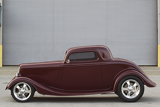 Jeanne Lachmiller's '33 Ford Zoom