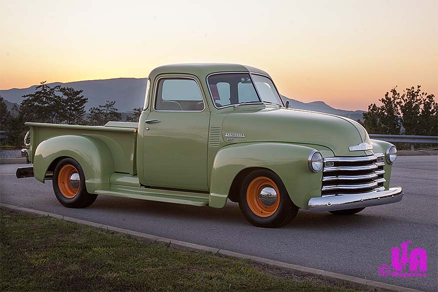 Linda Kitchens 49 Chevy Pickup