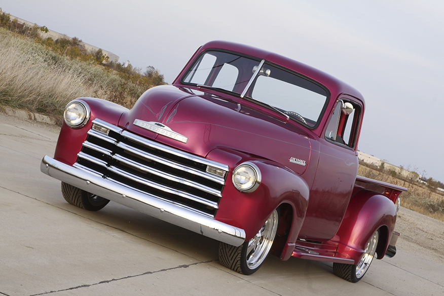 Marcia Siefert's '52 Chevy Pickup